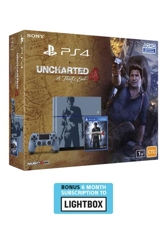 Ps4 Uncharted 4 Limited Edition Console Bundle Ps4 Buy Now