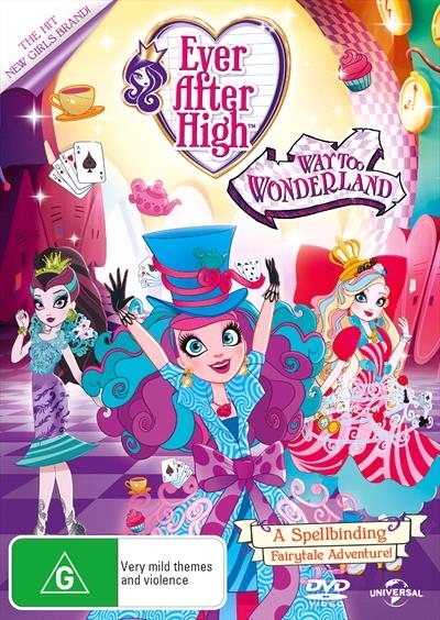 Ever After High - Way Too Wonderland / True Hearts Day on DVD