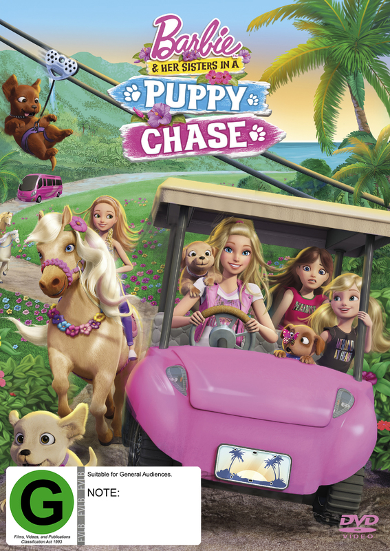 Barbie & Her Sisters In A Puppy Chase on DVD