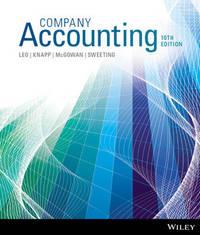 Company Accounting 10E Binder Ready Version by Ken J. Leo