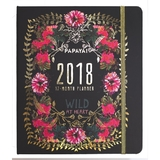 2018 Weekly A5 Diary - Wild at Heart