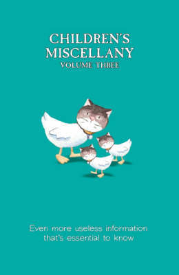 Children's Miscellany: Volume 3 by Dominique Enright image