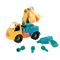 Battat: Take-Apart Crane Truck - Construction Kit