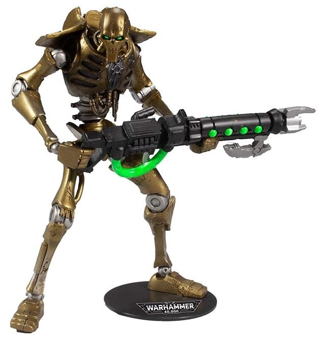 """Warhammer 40k: Necron Warrior - 7"""" Action Figure"""