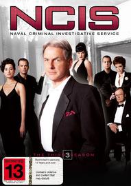 NCIS - Complete Season 3 (6 Disc Set) on DVD image