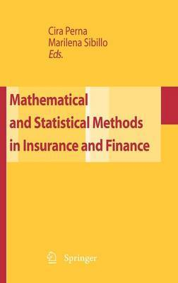 Mathematical and Statistical Methods for Insurance and Finance image