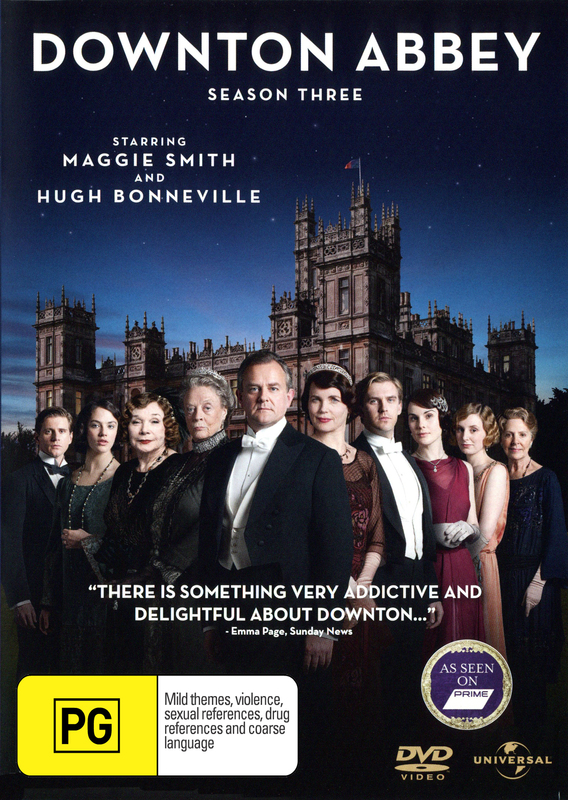Downton Abbey - Season Three on DVD