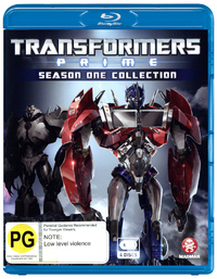 Transformers: Prime - Season 1 on Blu-ray