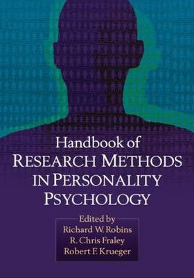 Handbook of Research Methods in Personality Psychology image