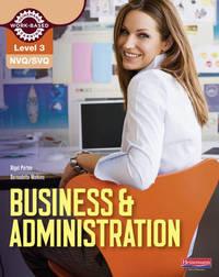 NVQ/SVQ Level 3 Business & Administration Candidate Handbook by Bernadette Watkins image