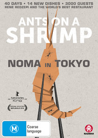 Ants On A Shrimp: Noma In Tokyo on DVD