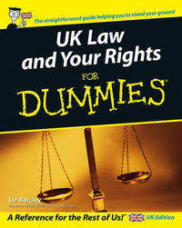 UK Law and Your Rights For Dummies by Liz Barclay