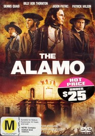 The Alamo on DVD image