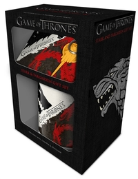 Game Of Thrones - Stark & Targaryen (Mug & Coaster & Keychain)
