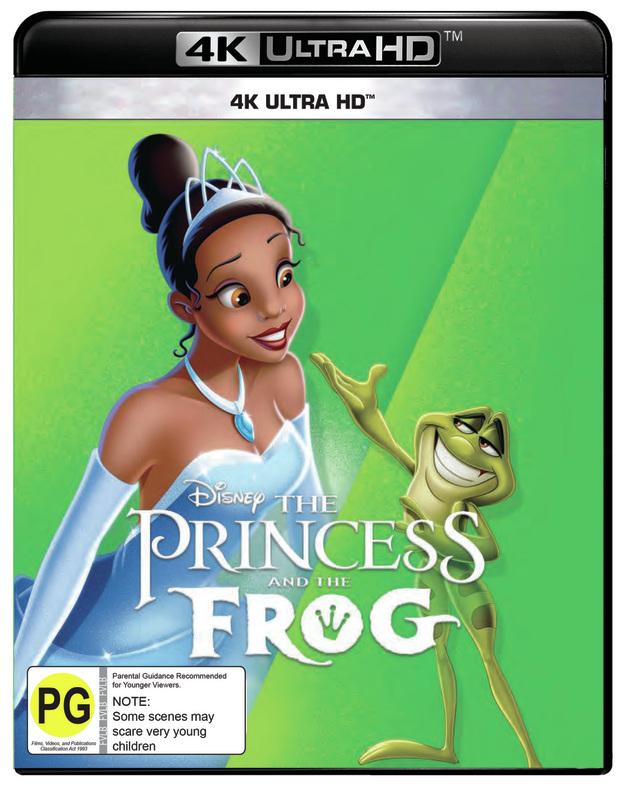 The Princess and the Frog on UHD Blu-ray