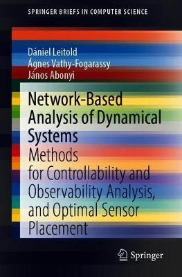 Network-Based Analysis of Dynamical Systems by Daniel Leitold