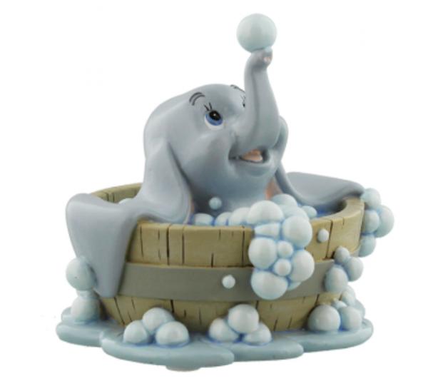 Figurine: Dumbo In Bath 'Baby Mine'