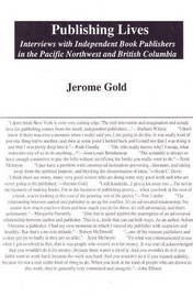 Publishing Lives by Jerome Gold