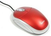 Saitek Optical Mouse - Red
