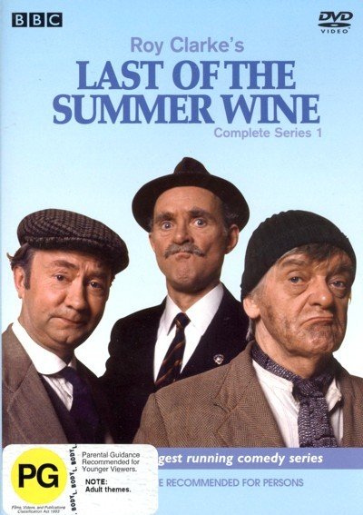Last Of The Summer Wine (Roy Clarke's) - Complete Series 1 (2 Disc Set) on DVD