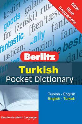 Berlitz Pocket Dictionary Turkish
