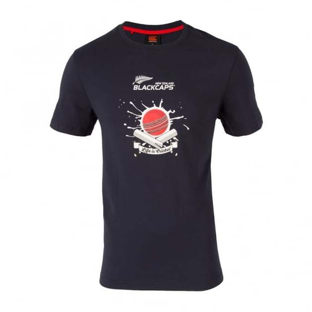 NZ Blackcaps Mens Eclipse Supporters Tee (2XL)