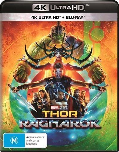Thor: Ragnarok on UHD Blu-ray image