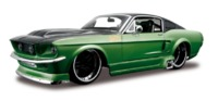 Maisto Assembly Line: 1/24 Diecast Model Kit - Ford Mustang GT (1967)