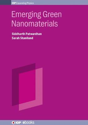 Emerging Green Nanomaterials by Siddtharth Patwardhan image