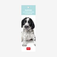 Puppies 2019 Bookmark Calendar