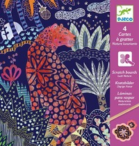 Djeco: Scratch Cards - Lush Nature
