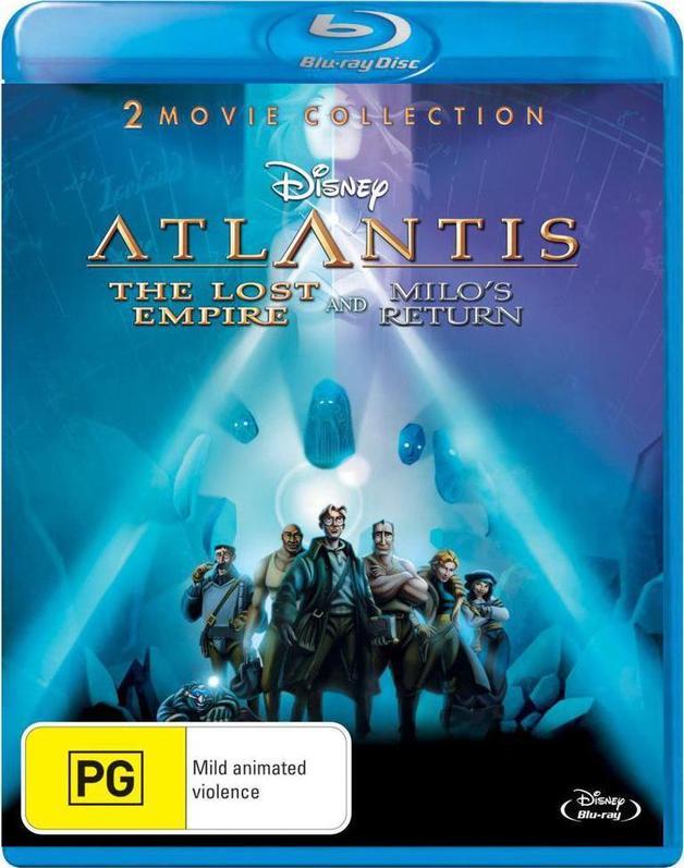 Atlantis: The Lost Empire / Atlantis: Milo's Return on Blu-ray