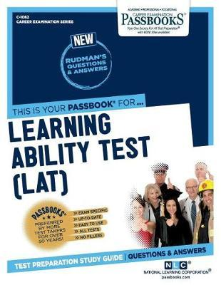 Learning Ability Test (LAT) by National Learning Corporation image