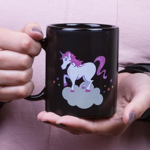 Thumbs Up!: Unicorn Heat Changing Mug