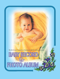 Baby Record and Photo Album image