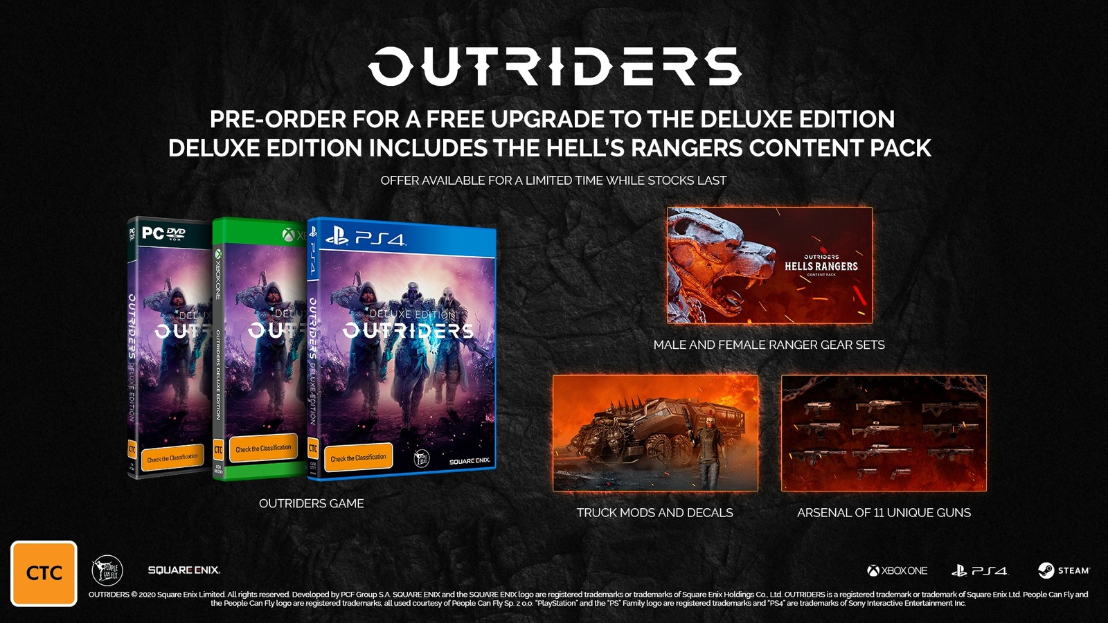 Outriders for PC image