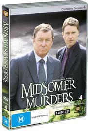 Midsomer Murders - Complete Season 4 (Single Case ) on DVD image