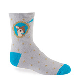 Sock it to Me Fawn Junior's Crew Socks