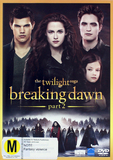 The Twilight Saga: Breaking Dawn - Part 2 DVD