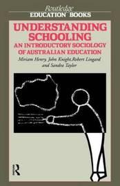 Understanding Schooling by Miriam Henry image