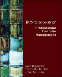 Running Money: Professional Portfolio Management by Scott Stewart image
