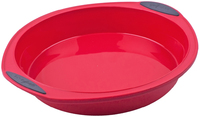 Silicone Round Cake Pan - Red (24cm)