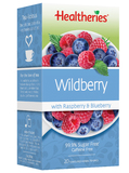 Healtheries Wildberry with Raspberry & Blueberry Tea (Pack of 20)