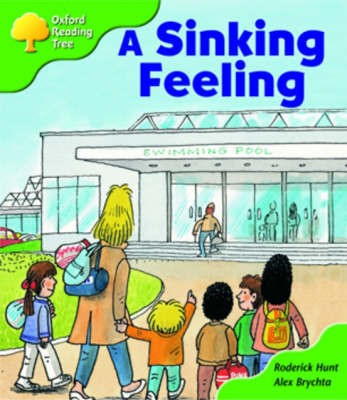Oxford Reading Tree: Stage 2: Patterned Stories: A Sinking Feeling by Roderick Hunt image