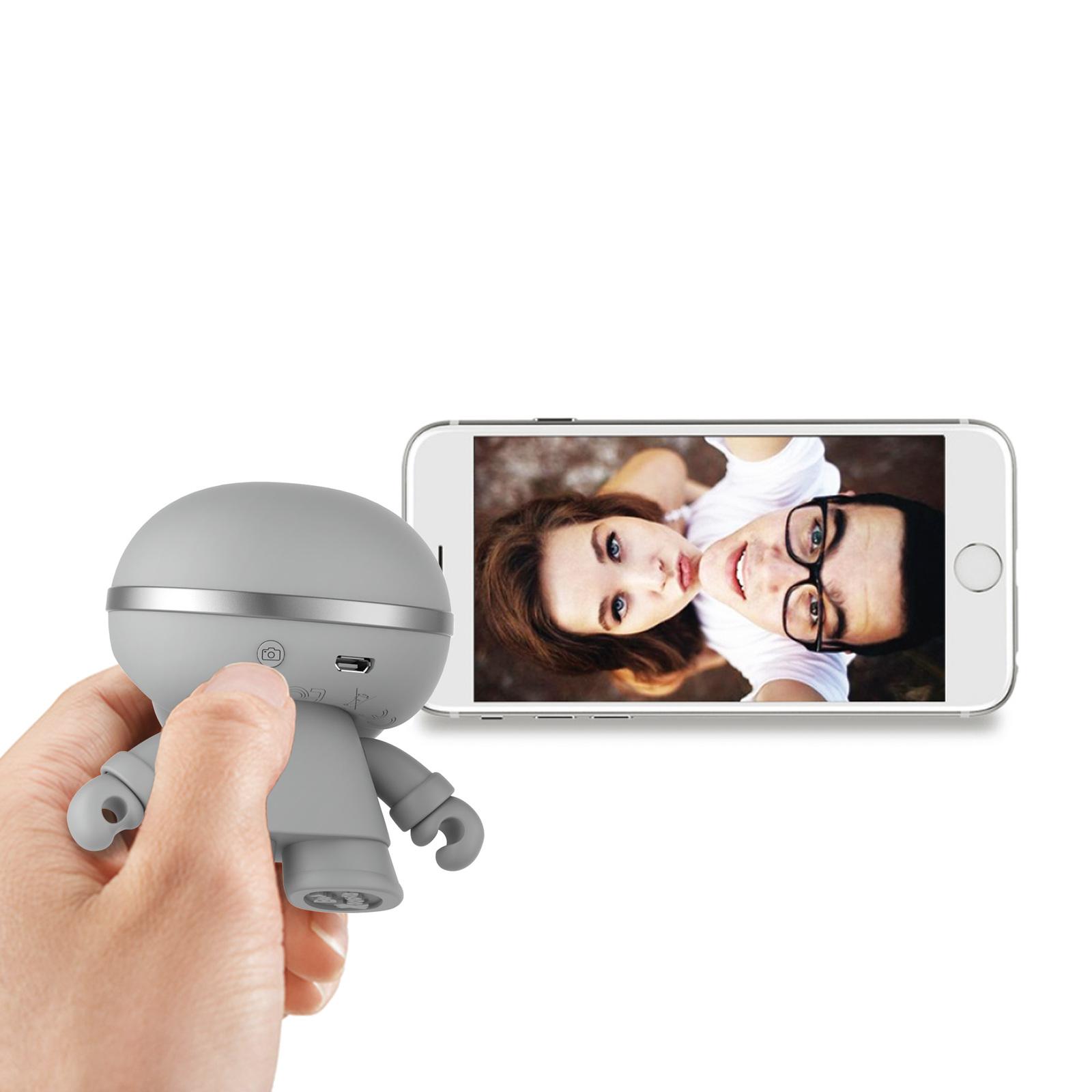 "Xoopar Boy: 3"" Bluetooth Speaker - Grey image"