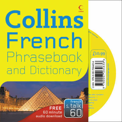 French Phrasebook and Dictionary CD Pack image