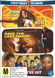 How She Move/Save The Last Dance/All You on DVD