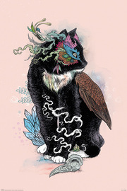 Mat Milller Black Cat Maxi Poster (801)