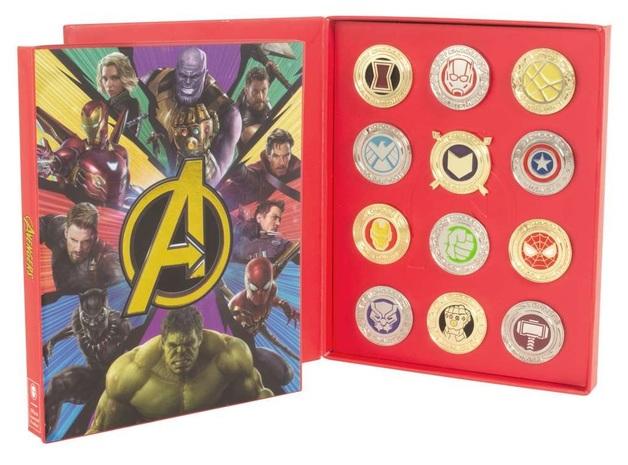 Marvel: Avengers - Retro Pin Set