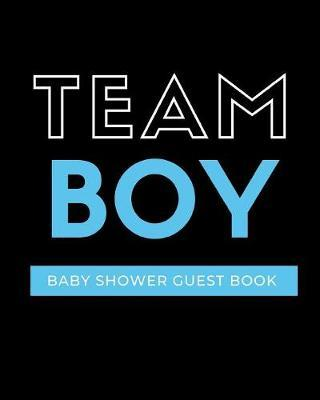 Team Boy Baby Shower Guest Book by Bump Game Publishing image